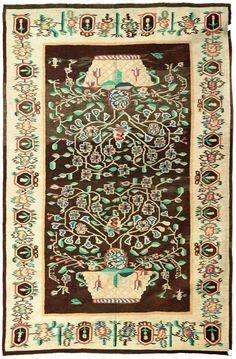 antique-carpet-russian-bessarabian-ukrainian-kilim-brown-botanical-bb3568-9x6
