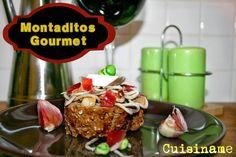 Montaditos. Originales Tapas con Gulas, Jamón Ibérico y Wasabi
