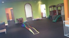 Doggy play areas - this one from Small World Dog Day Care