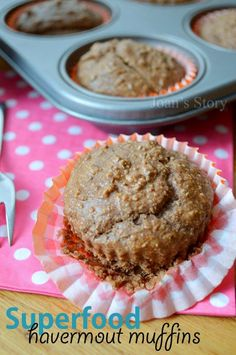 Superfood havermout muffins recept