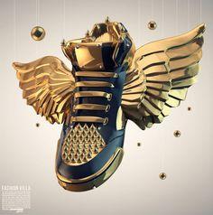 Antoni Tudisco – Gold and Bold Sneaker