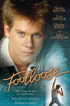 Love Kevin Bacon in this, which he co-starred with Lori Singer (they did a remake of the movie with Julieanne Hough, and I prefer her character instead of Lori's). Anyway, it's about a guy in a new town, and the conflict of rules they have about music and dance.