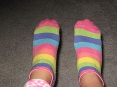 more rainbow socks