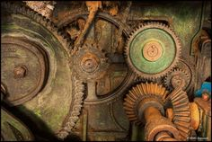Vintage Industrial Relics of Abandoned Sion Mills