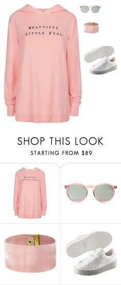 """""""Untitled #373"""" by guls ❤ liked on Polyvore featuring Wildfox and Puma"""