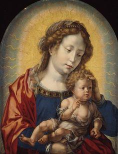 Jan Gossaert: Virgen y el Niño, 1525.