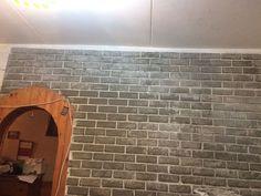 Кирпичная стена своими руками за 1000 р - запись пользователя Ирина (id1360759) в сообществе Дизайн интерьера в категории Мастер-классы - Babyblog.ru