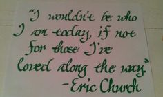 Love this song and this quote!