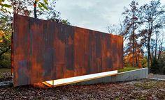 Студия композитора (Studio for a Composer) в США от Johnsen Schmaling Architects.