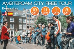Amsterdam City Free Tours