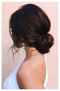 100 Best Wedding Hairstyles Updo For Every Length - - Looking for the latest hair do? Whether you want to add more edge or elegance – Updo hairstyles can easily make you look sassy and elegant. Up Dos For Medium Hair, Medium Hair Styles, Short Hair Styles, Plait Styles, Medium Length Bridal Hair, Hairstyle For Medium Length Hair, Updos For Medium Length Hair, Bridal Hair Buns, Bridal Hair Updo Elegant