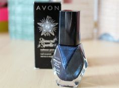 Avon Diamond Sparkle Nail Polish - Let's talk beauty - A British Beauty Blogger