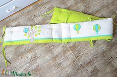 Egyedi applikált rácsvédő babaágyba (NoaNoa) - Meska.hu Beach Mat, Outdoor Blanket, Diy, Bricolage, Do It Yourself, Homemade, Diys, Crafting