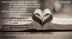 Twitter / maum_noh: Love is about giving everything ...