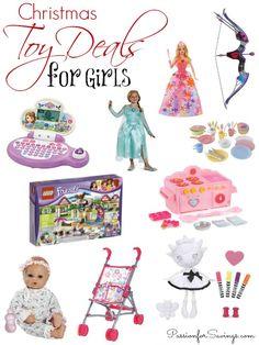 Best Deals on Girls Toys for Girls! Get Lalaloopsy, Lego Friends, Disney Princess, Nerf and more! Start your Christmas Shopping now!