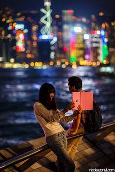 Hong Kong Harbour Bokeh