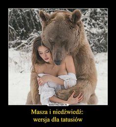 Masza i niedźwiedź:  wersja dla tatusiów