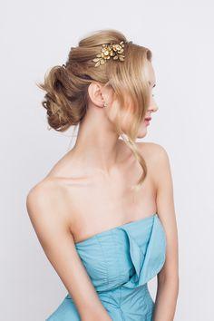 DECOLOVE - Golden Rose Tiara