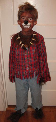 Werewolf Costume #pbkids Dress Up Dreams Pinterest Halloween - halloween costumes with beards ideas