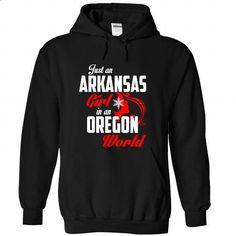 ARKANSAS-OREGON Girl 05Red - make your own t shirt #shirts for tv fanatics #tumblr hoodie