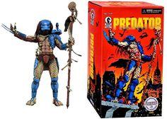 Predator – 7″ Scale Action Figure – 25th Anniversary Dark Horse Comic Book Predator Predator Alien, Dark Horse, 25th Anniversary, Action Figures, Scale, Comic Books, Horses, Comics, Collection