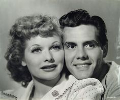 """1940 - Lucille Ball meets and elopes with Cuban bandleader Desi Arnaz. In 10 years, their TV show """"I Love Lucy"""" will be the most watched show in the United States"""