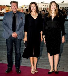 Princess Mary attends the opening of CPH TV Festival