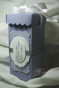 Gift Box Tutorial from Lyssa - Stampin' Up!