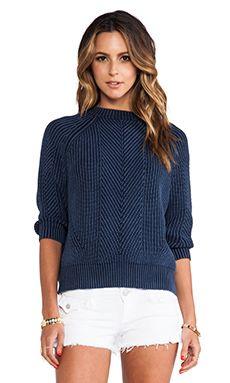 DemyLee Chelsea Sweater in Indigo   REVOLVE