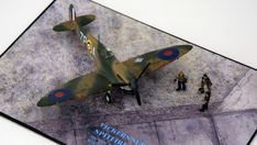 Supermarine Spitfire Mk.1a, P9953, ZP-A, No. 74 Squadron, Sq.-Ldr. D.F. Sailor Malan, RAF Battle of Britain, summer 1940 Science Fiction, Supermarine Spitfire, Battle Of Britain, Ldr, Scale Models, Airplane, Sailor, Fighter Jets, World