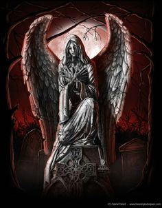 Art of anne stokes dark angels, fallen angels, guardian angels, dark art, Fantasy Kunst, Dark Fantasy Art, Dark Art, Dark Gothic, Gothic Art, Dark Angel Wallpaper, Hd Wallpaper, Gothic Themes, Gothic Angel