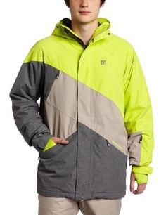 DC Men's Wishbone Snowboard Jacket, Lime, Large by DC. $178.57. DC has once again delivered the highest quality outerwear for the new season.  Designed to tackle all that winter can bring, keeping you dry, warm and able to enjoy the winter activities.