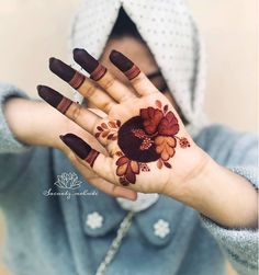 Floral Henna Designs, Finger Henna Designs, Henna Tattoo Designs Simple, Mehndi Designs Book, Latest Bridal Mehndi Designs, Stylish Mehndi Designs, Mehndi Designs For Girls, Mehndi Design Photos, Mehndi Designs For Fingers