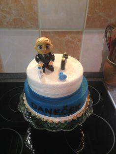 Dvoupatrový dort Boss baby