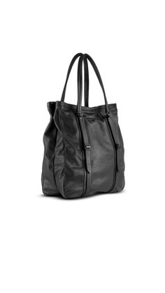 Burberry men's medium washed leather tote bag | Men's bags