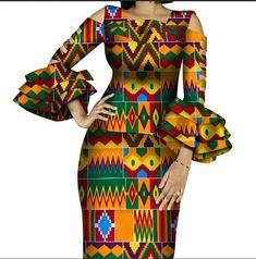 African Dresses For Women, African Print Dresses, African Attire, African Wear, African Women, Style Africain, 2 Piece Skirt Set, African Fashion Ankara, African Fabric