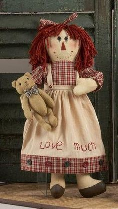 Vintage Style Girl Rag Doll. Was $18, now $9.  Collectable ragdoll girl.jpeg for adult collectors only.