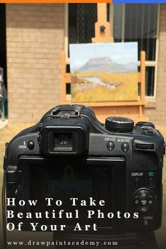 How To Take Beautiful Photographs Of Your Art Digital Photography, Amazing Photography, Photography Tips, Photography Business, Photographing Artwork, How To Take Photos, My Photos, Oil Painting For Beginners, Selling Art