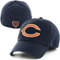 c21b9b9f New '47 Franchise Chicago Bears Fitted Basic Logo C Hat - Navy Blue Nfl  Chicago