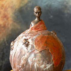 Bottle Art, Stone Art, Natural Materials, Textile Art, Metal Art, Balloons, Sculptures, Dessert, Decoration