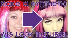 How To Make A Cheap Synthetic Wig Look NATURAL