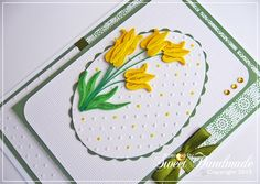 • Sweet Handmade •: Quilling Easter cards