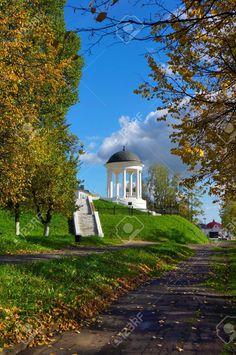 Rusia, ciudad de Kostroma en la temporada de otoño Foto de archivo - 21901683