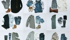 Nine Favorite Fall Outfits