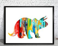Image result for abstract dinosaur painting