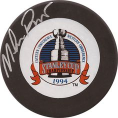 Mike Richter Autographed 1994 Stanley Cup Puck - $69
