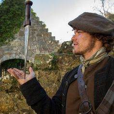 "New Pic of Sam @Heughan via @Outlander_Starz Instagram:"" Sam heughan is a man of many talents. #Outlander"" pic.twitter.com/lm6rHU696F"