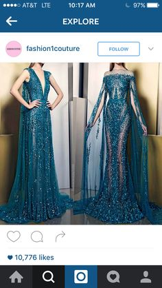 Right side gown #gorgeous