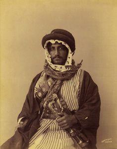 Bedouin Man, Palestine, 1909