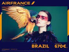 Twitterで見つけた、エールフランス航空の広告が斬新すぎると話題 - iPhone女史